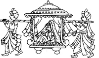DS-06  Indian Wedding Doli Clipart Images