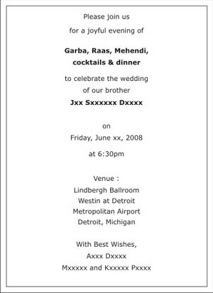 Format Of Wedding Invitation In English as perfect invitation example