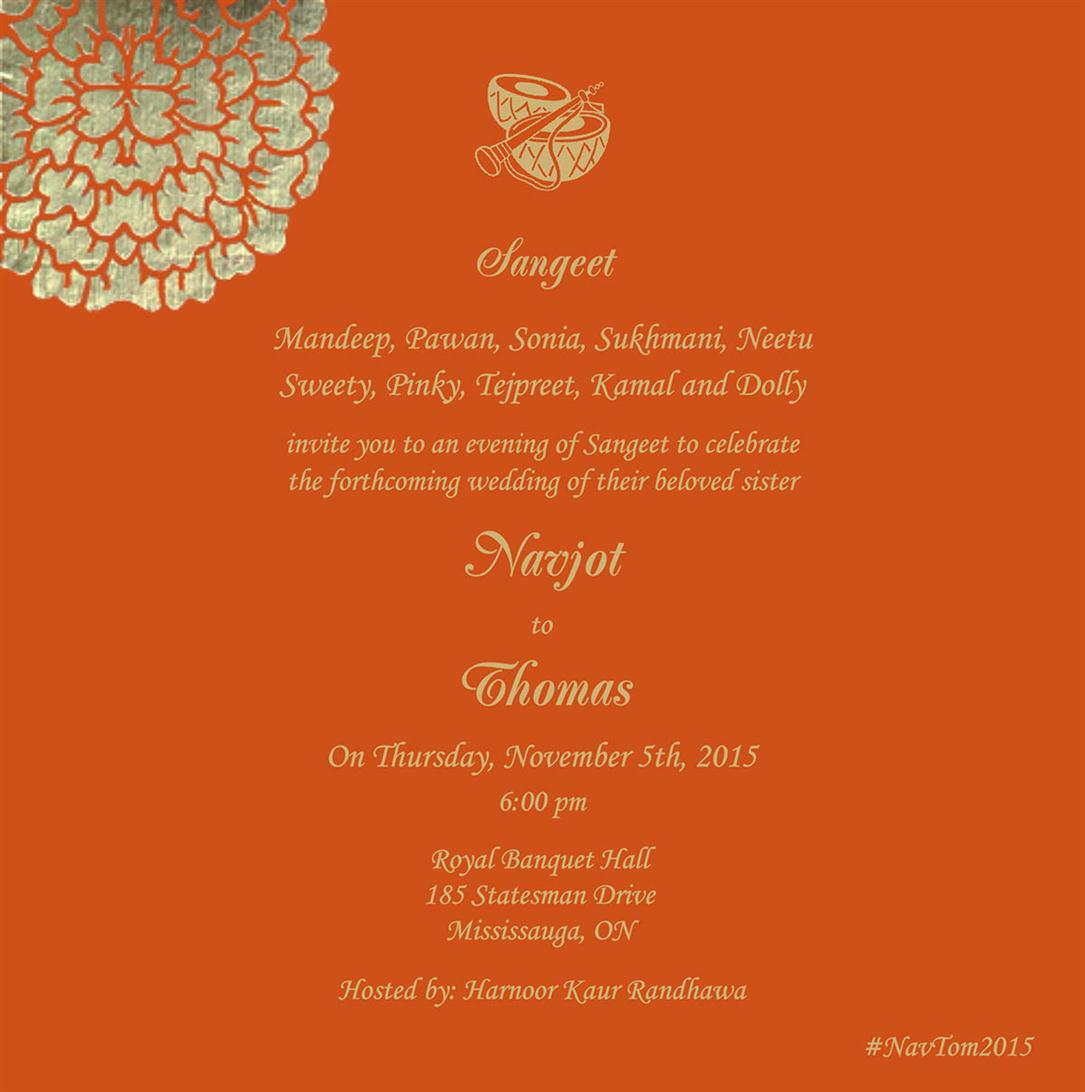 Indian Wedding Cards - US-1209