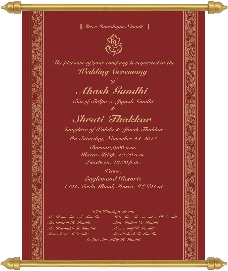 Fine Wedding Luncheon Invitations Composition - Invitations and ...