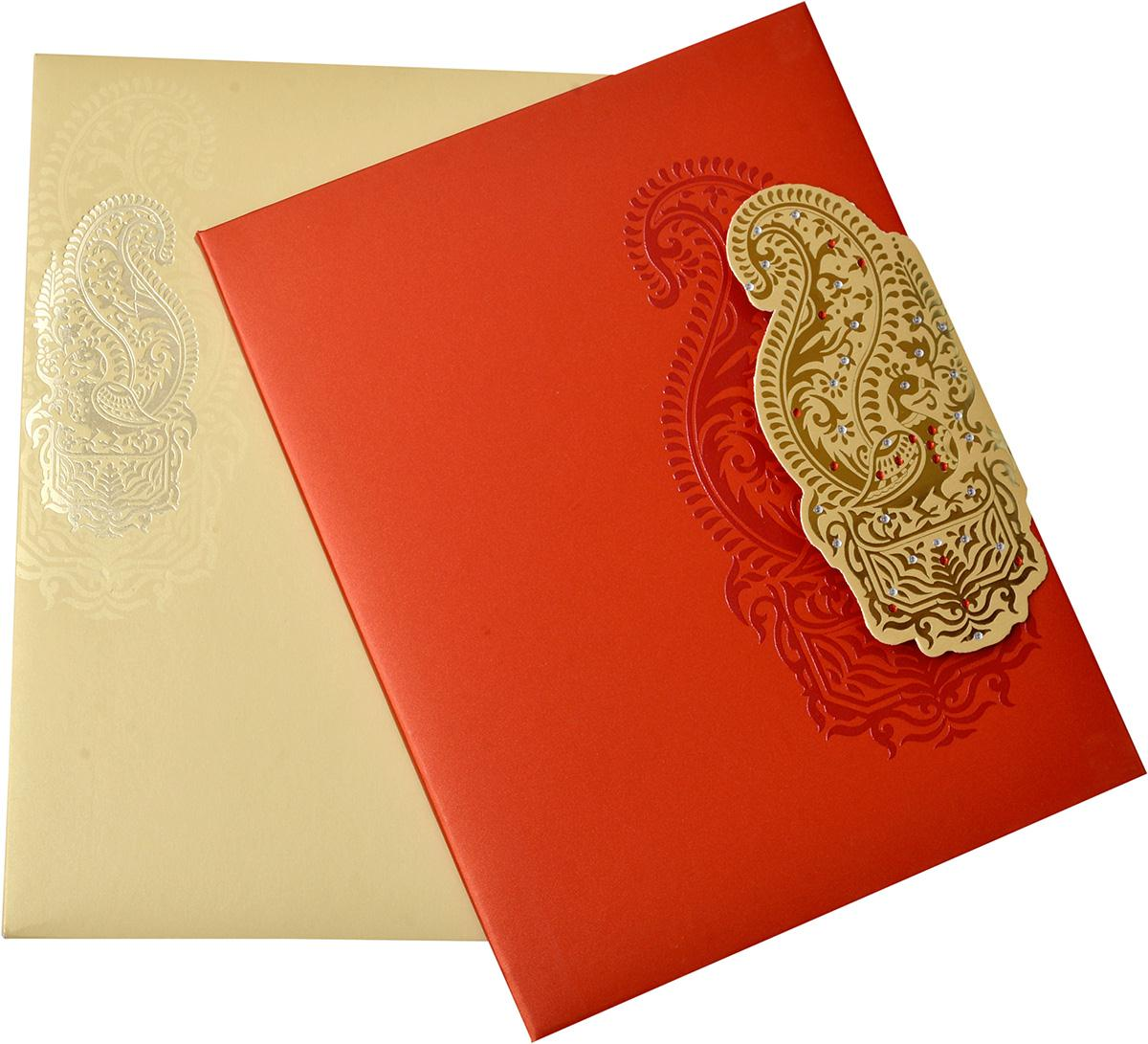 Indian Wedding Cards - US-1552