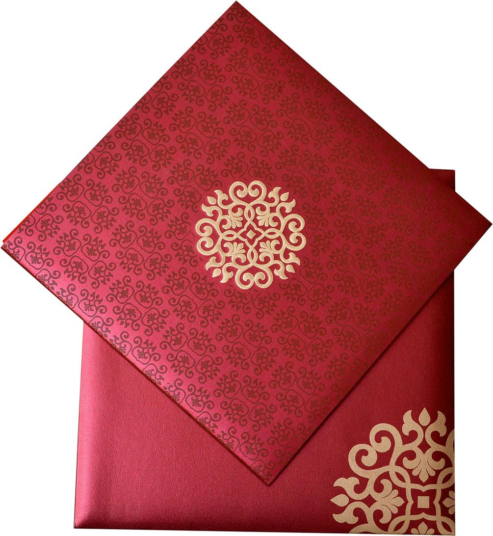 Indian Wedding Cards - US-1554