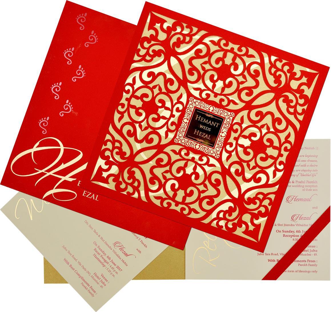 Designer Wedding Cards | Buy Designer Wedding Invitations online