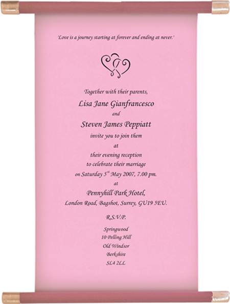 return address labels wedding