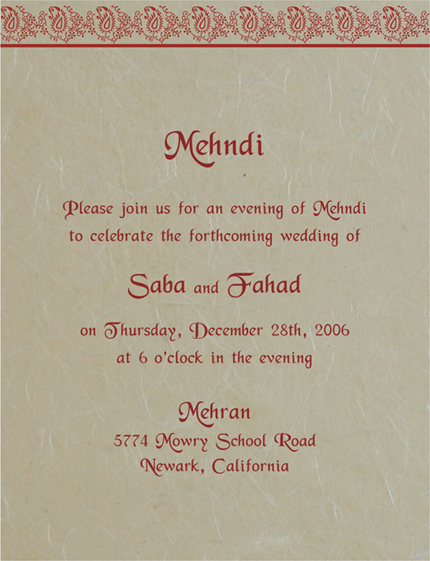 Hindu Engagement Invitation Cards as great invitation design