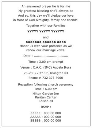 Christian wedding invitation wordingschristian wedding wordings text sample 4 stopboris Choice Image